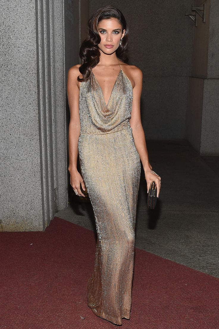 Sara Sampaio in vintage Gucci  - Best dressed celebrities this week: 19 October | Harper's Bazaar