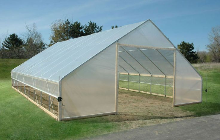 Fieldpro Gable High Tunnel Package Cold Frames Amp Hoop