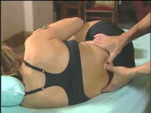 Deep tissue joint mobilization for Back Pain - YouTube