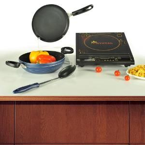Induction Cooktop Cookware Storage Set By Crystal Accessories Onlinekitchen