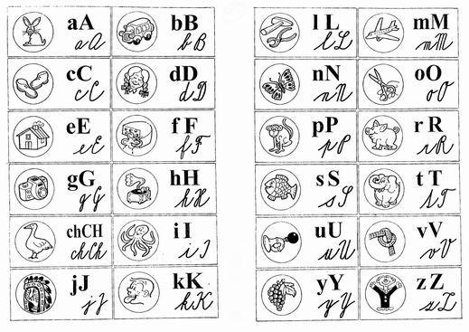 Domino abeceda
