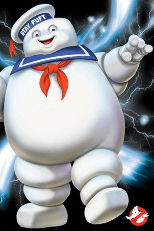 Stay Puft - Ghostbusters ... LOVED this scene ... too freaking hilarious ... lol