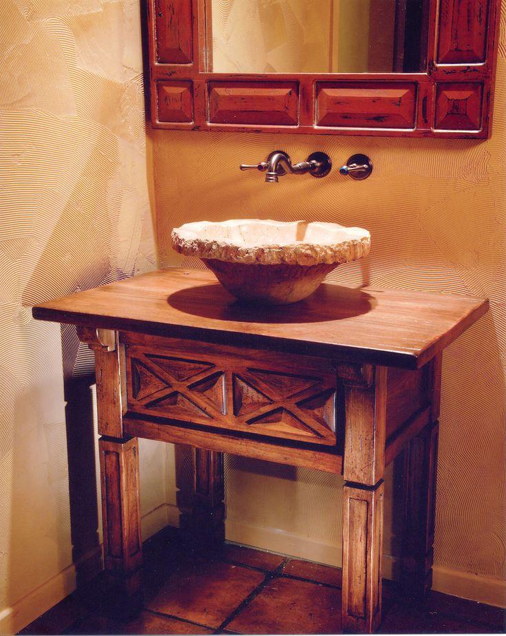 Powder room vanities powder room vanity 1 bathrooms for Powder room sink vanity
