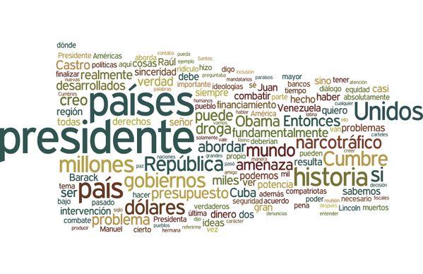 TagCloud Discurso de Cristina Fernández (Presidenta de Argentina) en la VII Cumbre de las Américas (Panamá,2015) - Enlace permanente de imagen incrustada