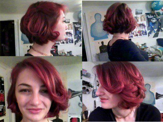 DIY-Haar: Kurzes lockiges Vintage-Haar-Tutorial # Kurzhaar # Haarschnitt # Kurzhaar # Langhaar