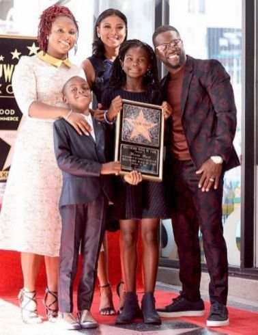 Kevin Hart his wife ex-wife and kids Spotted