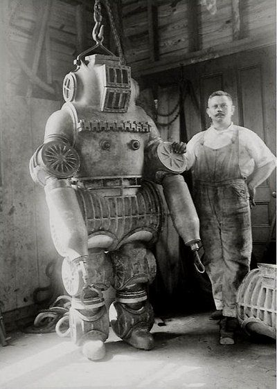 Vintage diving suit