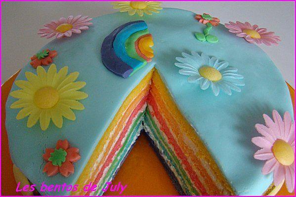 Gâteau pour anniversaire des filles