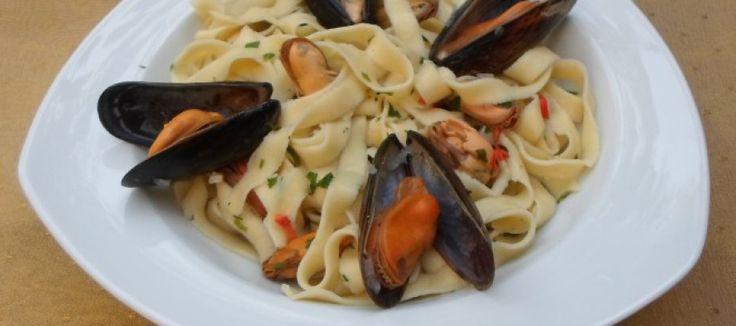 Italiaanse pasta met mosselen | Lekker Tafelen