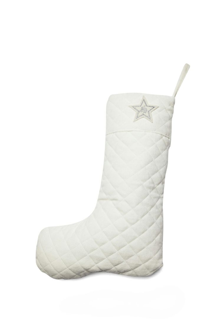 If you rather like it white ... FLORENCE DESIGN Christmas Stockings in off-white <3