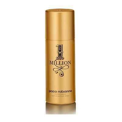Deodorants and Antiperspirants: 1 Million Paco Rabanne For Men Deodorant Spray 5 Oz 150 Ml Brand New Sealed -> BUY IT NOW ONLY: $34.9 on eBay!
