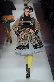 """BEYOND DRESS CODES"" / CONTEMPORARY FASHION DESIGNERS IN DIALOGUE WITH TRADITIONAL GREEK COSTUME [JEAN PAUL GAULTIER (AW (2010)]"