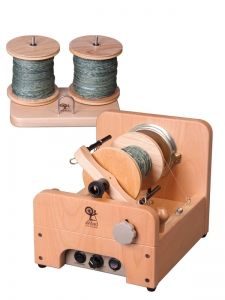 spinning wheels - Ashford e-spinner, a electrical spinning wheel. I dream of the day I can buy one of these.