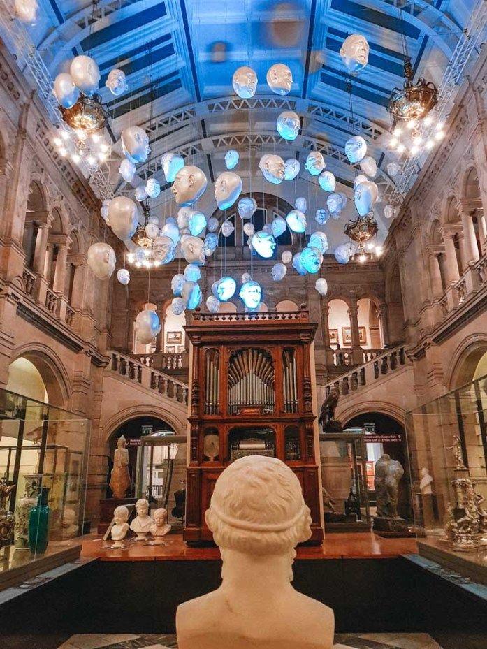 Kelvingrove Art Gallery and Museum in Glasgow - Map of Joy #mapofjoy #glasgow #scotland
