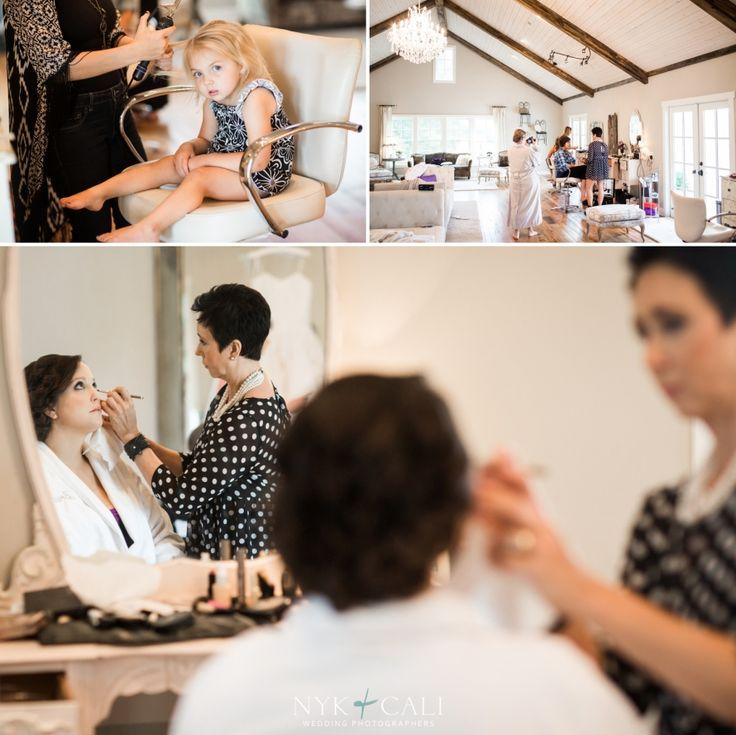 Nyk + Cali Wedding Photographers | Nashville, TN | Mint Springs Farm | Getting Ready | Bride | Hair + Makeup | Flower Girl | Mirror Ideas | Candid |