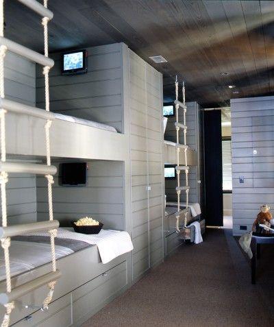 Twin bunkbeds | McAlpine Tankersley Architecture Brown Cottage » McAlpine Tankersley Architecture