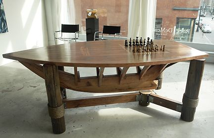 Nautical Themed Chess Table For The Home Pinterest