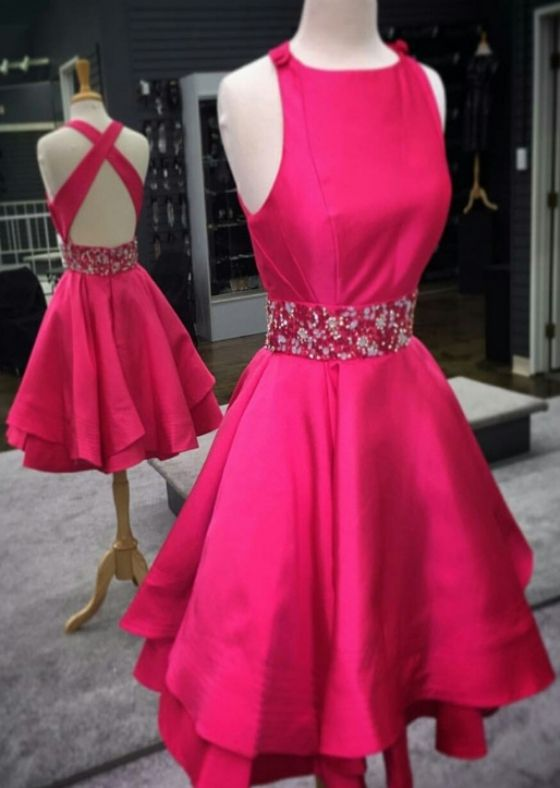 Square Homecoming Dresses, Red Prom Dresses, Red Square Homecoming Dresses, Square Homecoming Dresses, Red Square Prom Dresses, Open Back Pretty Red A-line Beaded O-neck Homecoming Dresses Short Prom Dresses, Short Prom Dresses, Short Homecoming Dresses, Red Homecoming Dresses, Open Back Dresses, Pretty Prom Dresses, Prom Dresses Short, Open Back Prom Dresses, Short Red dresses, Short Red Prom Dresses, Prom Dresses Red, Red Short Dresses, Beaded Prom Dresses, Red Short Prom Dresses, Pr...