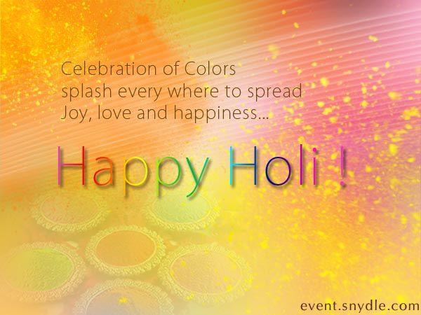 Holi Greetings!