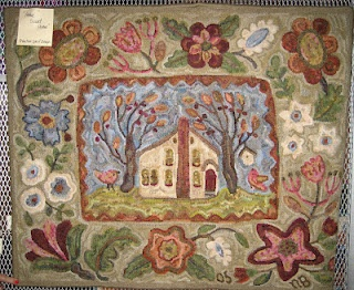 """Primitive Junky. Finally tracked this down: it is a Karen Kahle design called """"Fruitlands."""" I love the colors in this"""