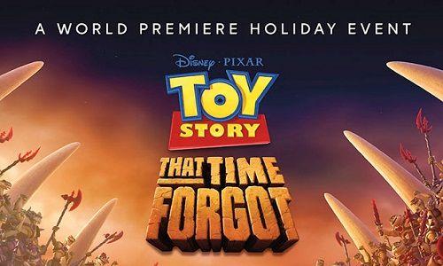 Toy Story That Time Forgot | Cerita terjadi setelah liburan Natal dengan mainan biasa menemukan diri mereka terjebak dalam wilayah yang tidak biasa dengan sekelompok action figure baru dan delusi. ...