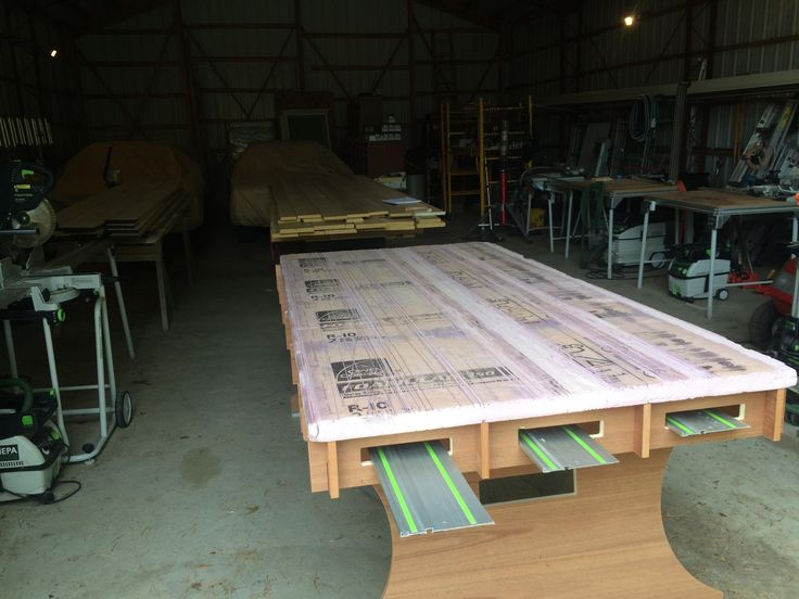 Cutting Work Table Woodworkers Dream Pinterest
