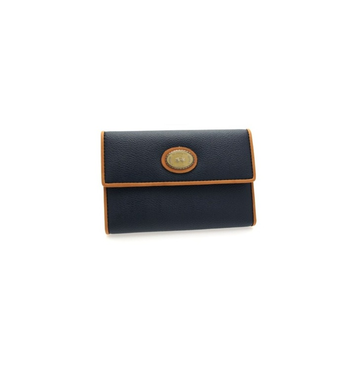 GENUINE LA MARTINA Wallet Navy Woman Blue - 048020082, $121