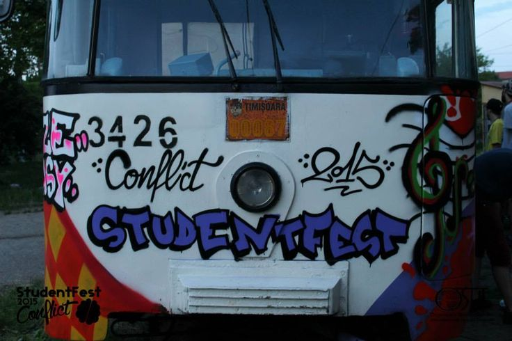 #studentfest #conflict #metrou #streetart #graffiti