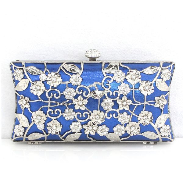 Luxurious Silk And Metal Handbag For Women With Cheapest Price Price $59.98 Offered By Prinkko.