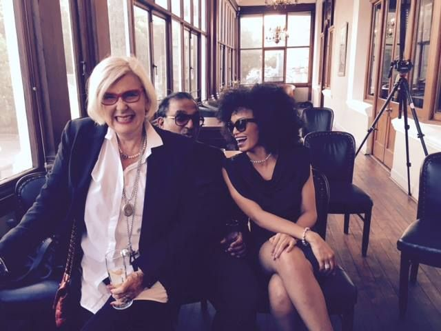With Gavin Rajah & Pearl Thusi at the Spree AW'15 launch