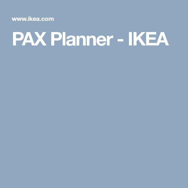 Die besten 25+ Pax planner Ideen auf Pinterest PAX Garderoben