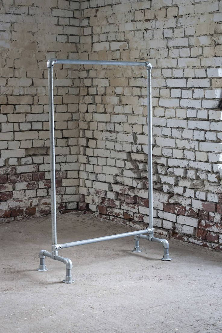 Vaaterekki Pit. 102 cm - pipe clothing rack - putkirekki - Domus Classica verkkokauppa