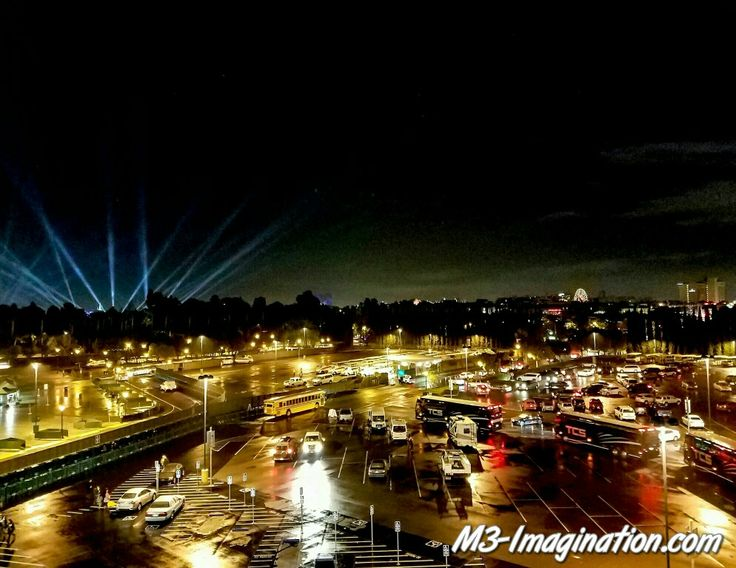 The view after we welcomed in 2017 at Disneyland.  #couples #family #disneyland #anaheim #vacation #newyear #nightscape #photography #mickeymouse #art #m3imagination #city #stockphoto #microstock
