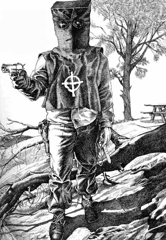 The Zodiac Killer: Serial murderer who left riddles as clues; he was never identified