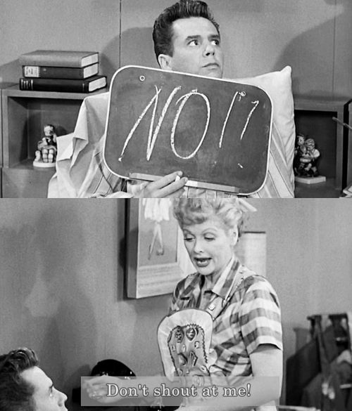 I Love Lucy: Ricky loses his voice