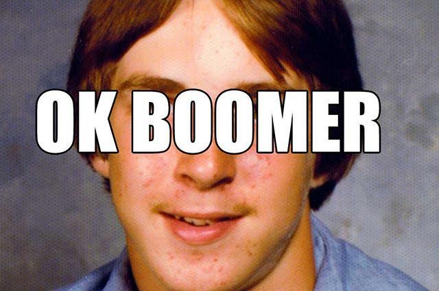 Ok Boomer Www Therealsocialcompany Com Okboomer In 2020 Ok Boomer Memes Reality Show