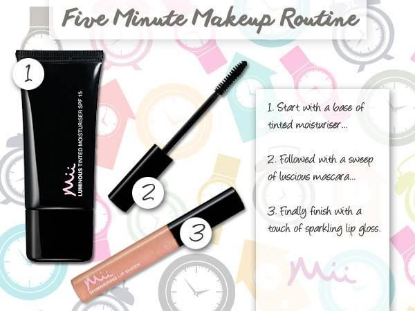 5 Minute Makeup Routine