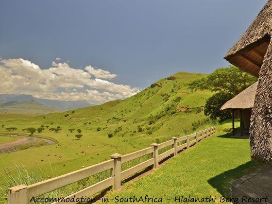 Open spaces at Hlalanathi. http://www.accommodation-in-southafrica.co.za/KwaZuluNatal/Bergville/Hlalanathi.aspx