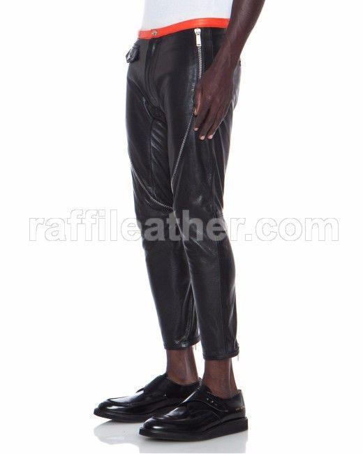 Celana Kulit Pria » Celana Kulit CRF 009 • www.raffileather.com Jual Jaket Kulit Asli Garut Murah & Berkualitas #celanakulit