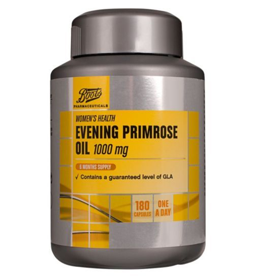 Boots Evening Primrose Oil 1000 mg 6 Months Supply - £ 15