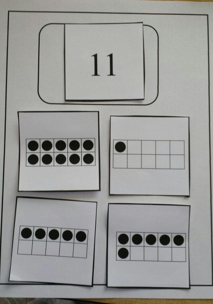 The 535 best Math. Ten Frame images on Pinterest | Math activities ...