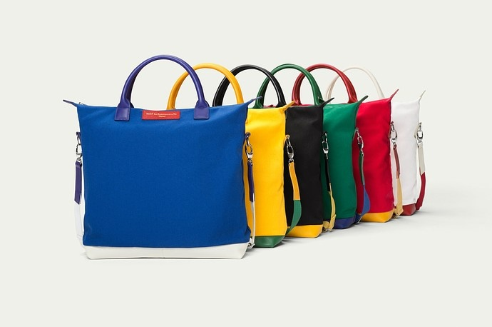 WANT Les Essentials limited edition bags inspired by the upcoming Olympic games
