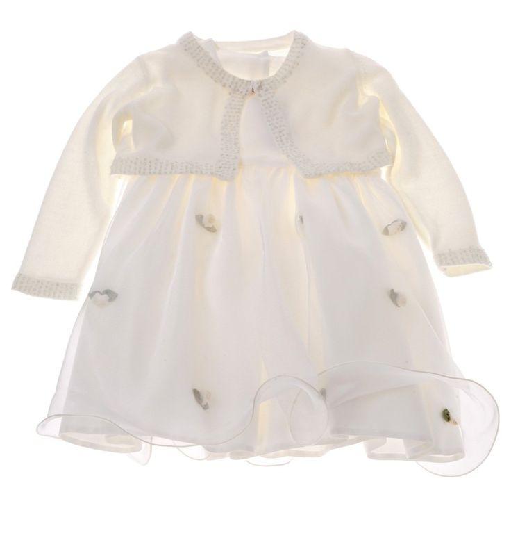 Παιδικό αμπιγιέ φόρεμα και ζακέτα «Small Roses»  €45,00