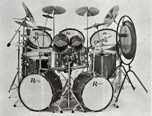Vintage Rogers Drum Kit