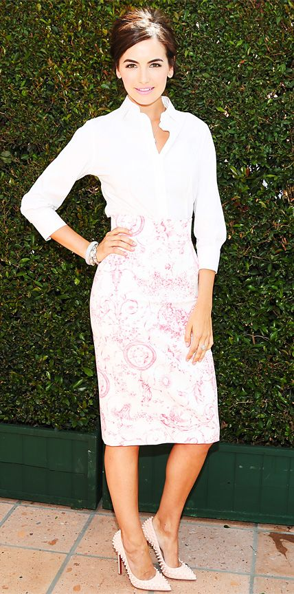 Look of the Day - Camilla Belle from InStyle.com