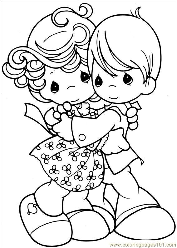 673 best precious moments coloring page images on Pinterest