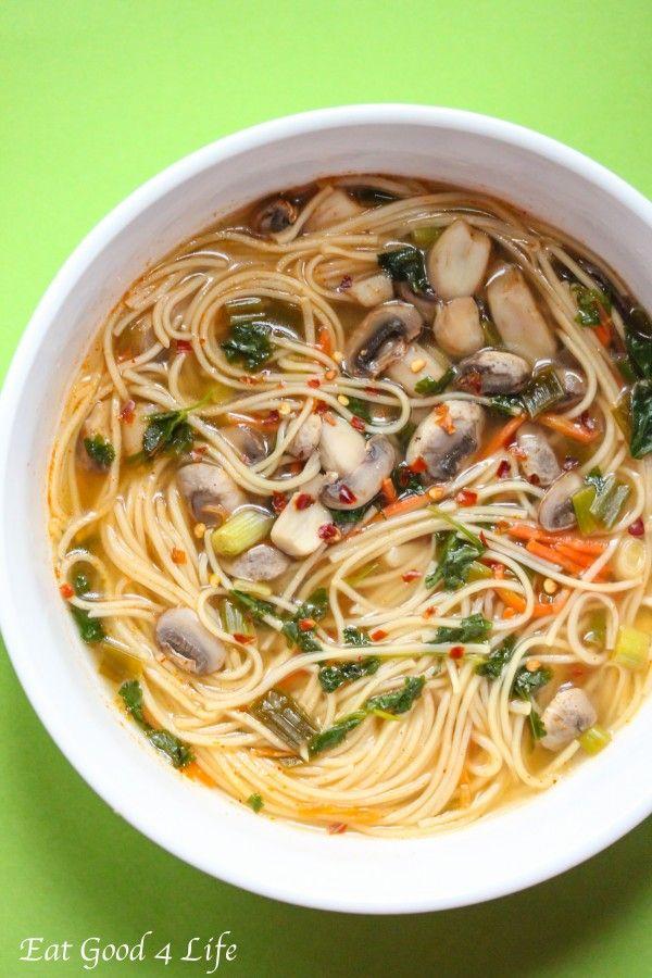 Thai noodle soup-replace noodles with Shiritaki noodles