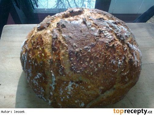 Domácí chléb bez hnětení - Top Recepty.cz