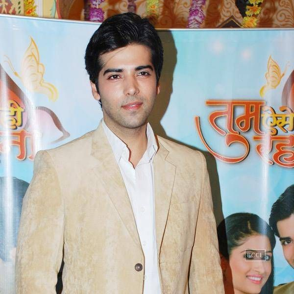 Kinshuk Mahajan during the launch of new TV show Tum Aise Hi Rehna, in Mumbai, on November 4, 2014.