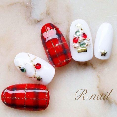 #nail #nails #nailstagram #gel #gelnails #nailart #nailarts #nailist #xmas #xmasnails